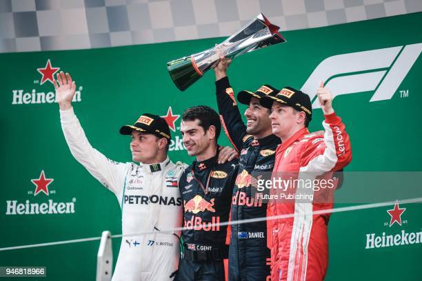 Daniel Ricciardo charged from sixth to score a stunning first win of the 2018 Formula 1 Chinese Grand Prix at the Shanghai International Circuit in...