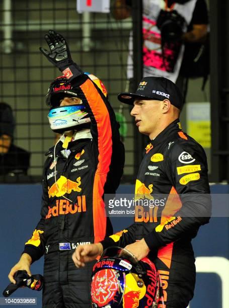 Daniel Ricciardo Max Verstappen Red Bull Racing formula 1 GP Singapore