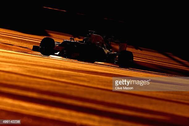 Daniel Ricciardo of Australia and Infiniti Red Bull Racing drives during a reconnaissance lap before the Abu Dhabi Formula One Grand Prix at Yas...