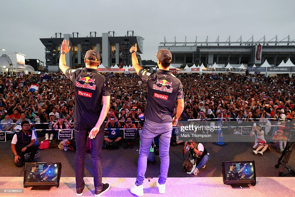 F1 Grand Prix of Japan - Qualifying : ニュース写真