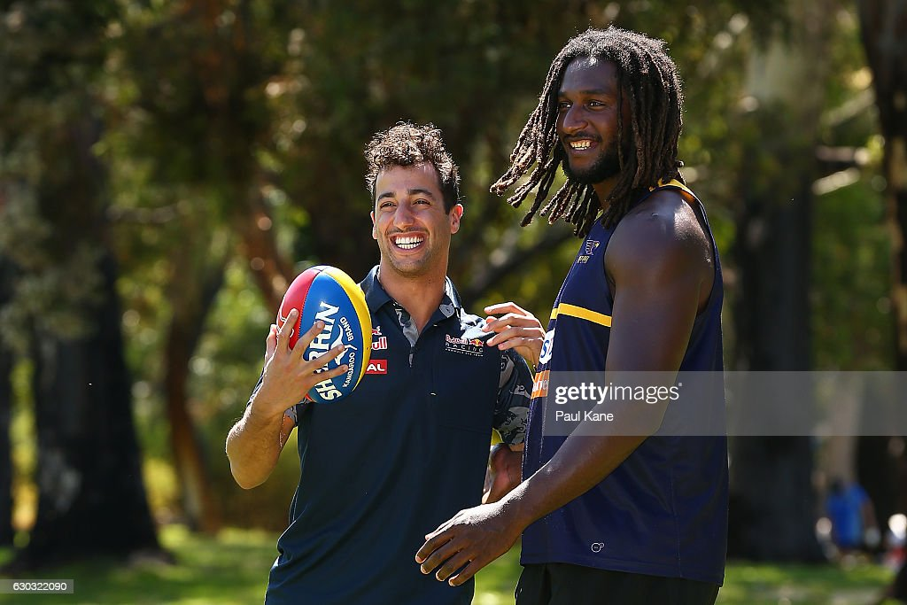 Daniel Ricciardo West Coast Eagles Media Opportunity