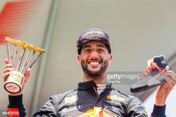 Daniel Ricciardo of Australia and Red Bull Racing during the Canadian Formula One Grand Prix at Circuit Gilles Villeneuve on June 11 2017 in Montreal...