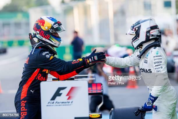 Daniel Ricciardo of Australia and Red Bull Racing during the Azerbaijan Formula One Grand Prix at Baku City Circuit on June 25 2017 in Baku Azerbaijan