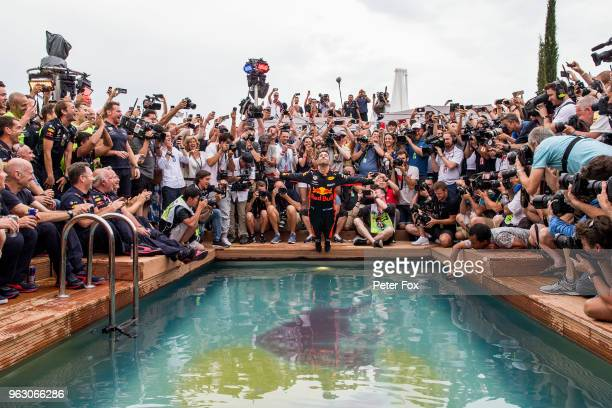 27 27 27 27 27 27 27 Daniel Ricciardo of Australia and Red Bull Racing during the Monaco Formula One Grand Prix at Circuit de Monaco on May 27 2018...