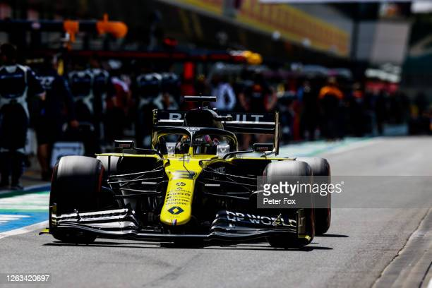 Daniel Ricciardo of Australia and Renault during the F1 Grand Prix of Great Britain at Silverstone on August 02 2020 in Northampton England