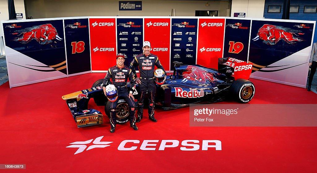 Toro Rosso F1 Launch : News Photo
