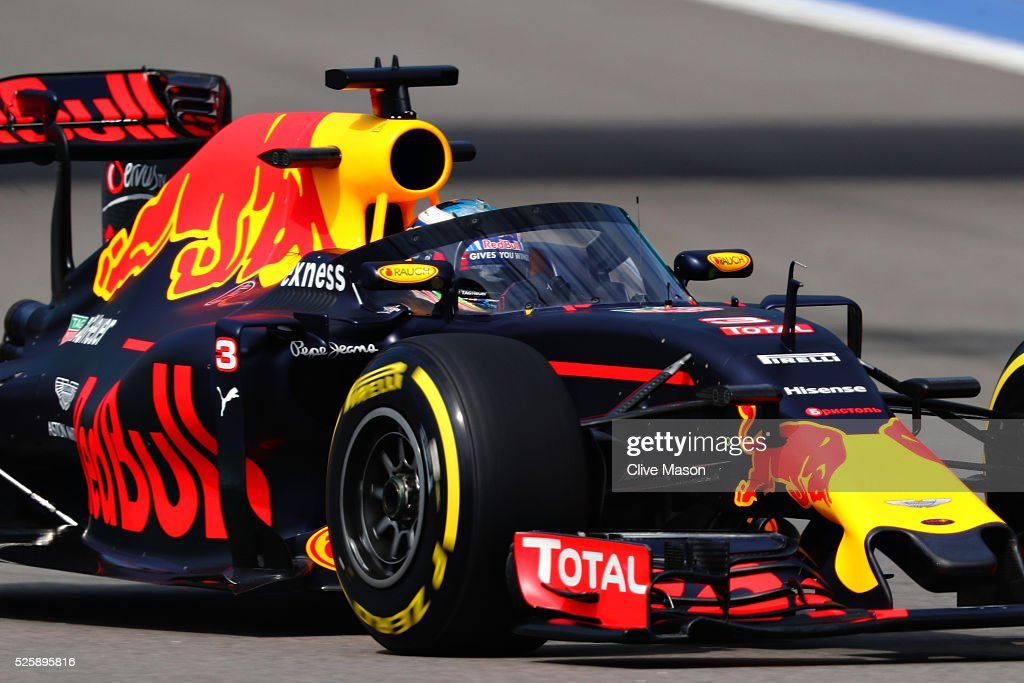 F1 Grand Prix of Russia - Practice : News Photo