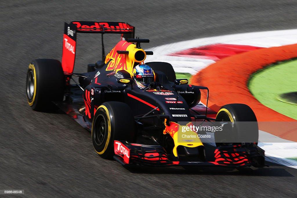 F1 Grand Prix of Italy - Practice : News Photo