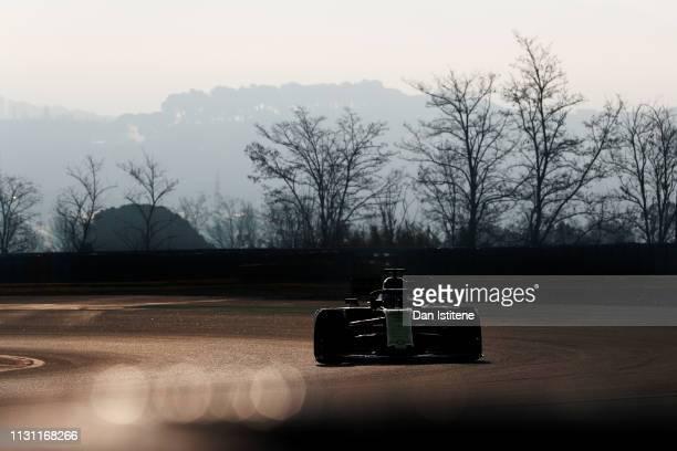 Daniel Ricciardo of Australia driving the Renault Sport Formula One Team RS19 during day four of F1 Winter Testing at Circuit de Catalunya on...