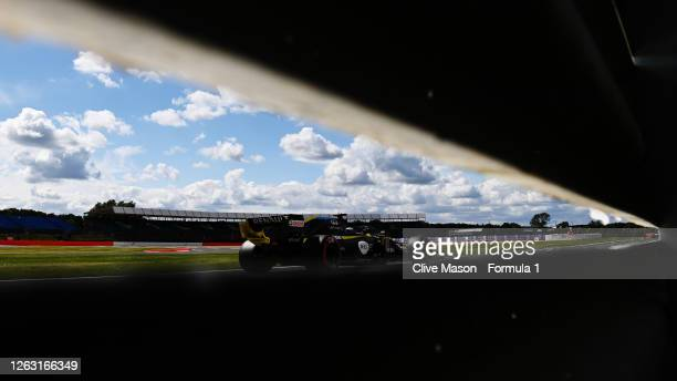 Daniel Ricciardo of Australia driving the Renault Sport Formula One Team RS20 during qualifying for the F1 Grand Prix of Great Britain at Silverstone...