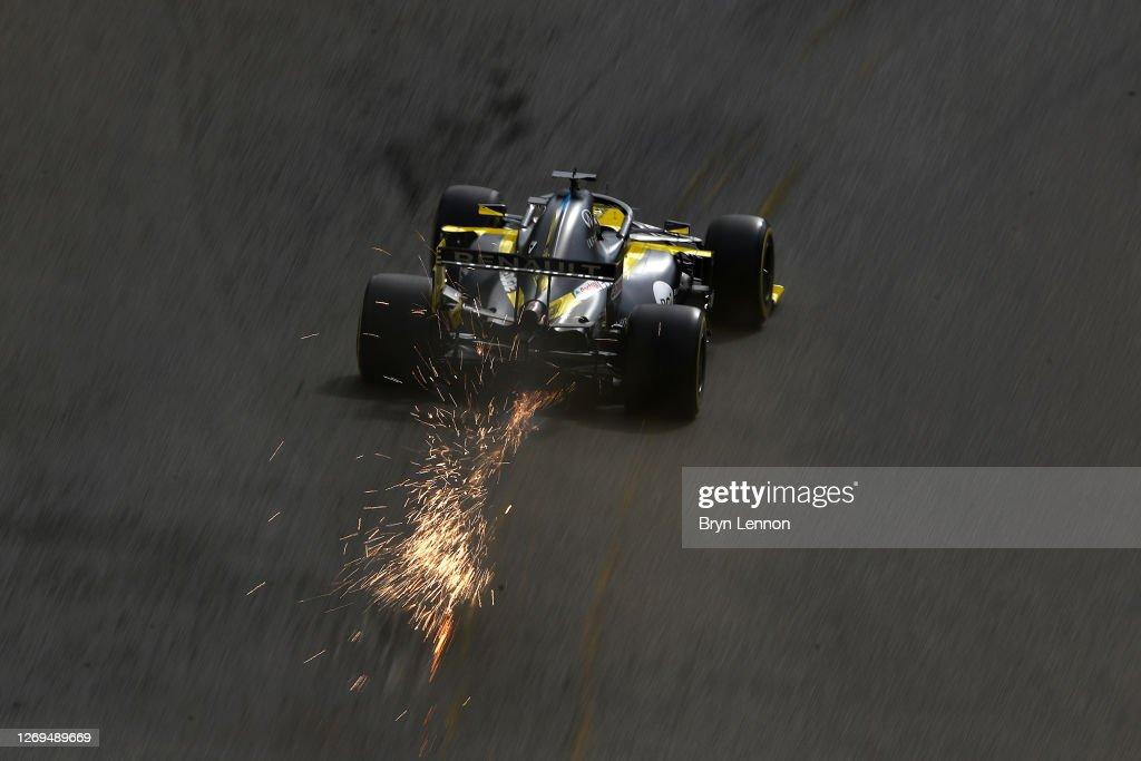 F1 Grand Prix of Belgium - Final Practice : News Photo