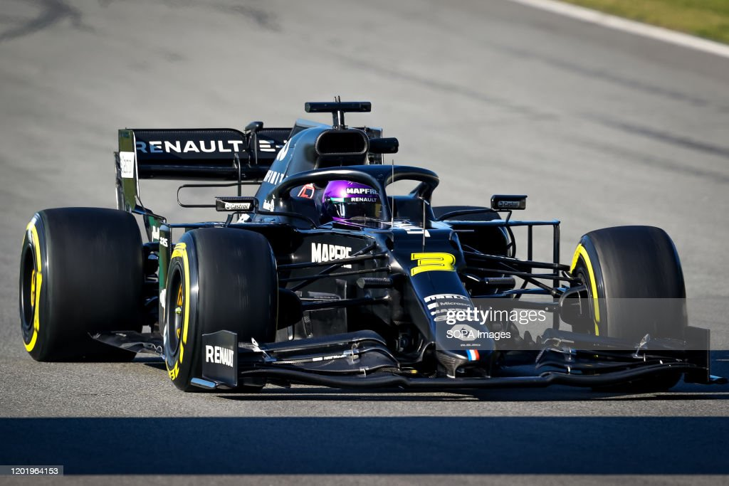 Daniel Ricciardo Of Renault F1 Team Seen In Action During The Morning News Photo Getty Images