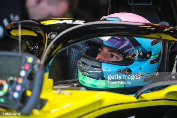 Daniel RICCIARDO of Renault Sport F1 Team in the pitlane during 2nd practice on day 2 of the 2019 Formula 1 Australian Grand Prix