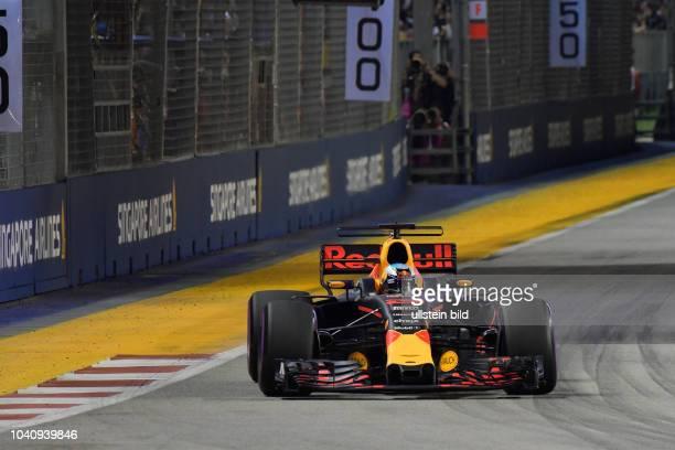 Daniel Ricciardo Red Bull Racing formula 1 GP Singapore