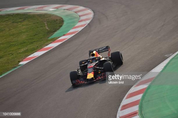 Daniel Ricciardo Red Bull Racing formula 1 GP Test Barcelona Spanien