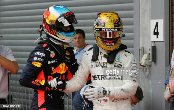 Daniel Ricciardo Red Bull Racing Lewis Hamilton Mercedes Grand Prix formula 1 GP Belgien in Spa