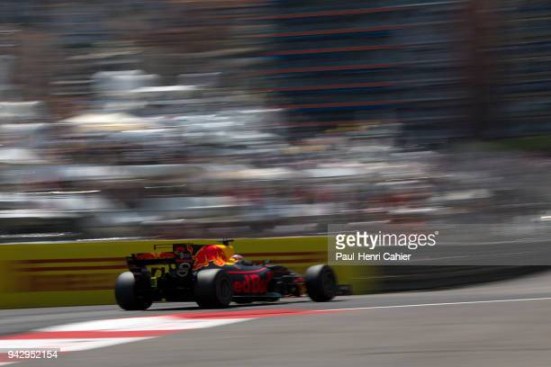 Daniel Ricciardo, Red Bull Racing-TAG Heuer RB13, Grand Prix of Monaco, Circuit de Monaco, 28 May 2017. Pole position but a disappointing second...