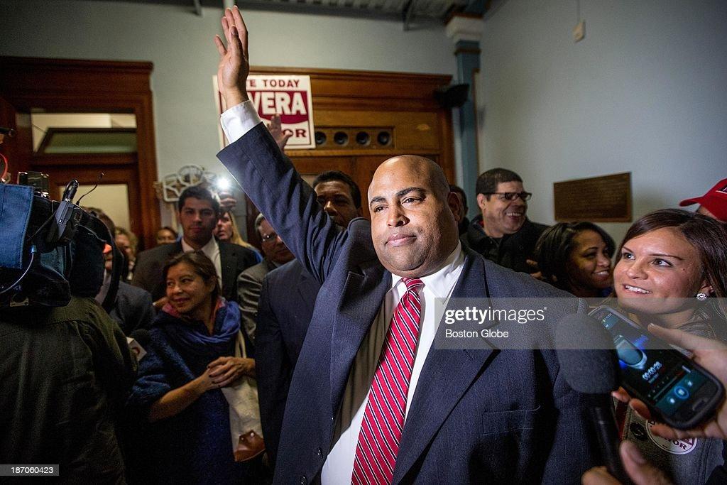 2013 Mayor Of Lawrence Race : News Photo