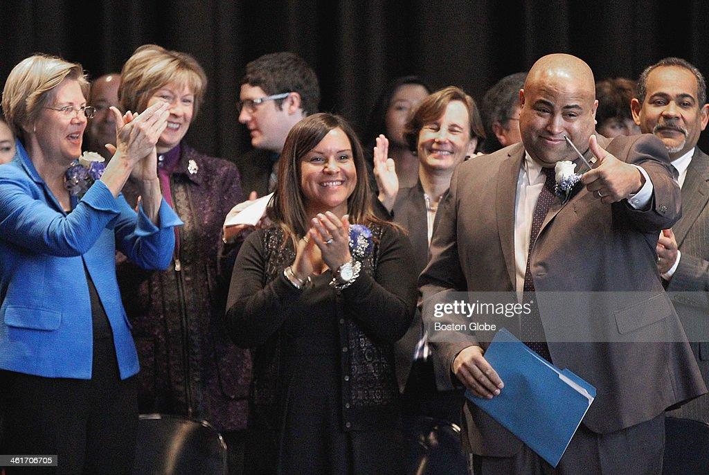 Daniel Rivera Sworn In As Mayor Of Lawrence : News Photo
