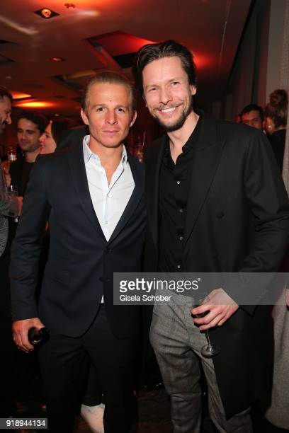 Daniel Roesner and Bert Tischendorf during the Berlin Opening Night by GALA and UFA Fiction at Das Stue on February 15 2018 in Berlin Germany