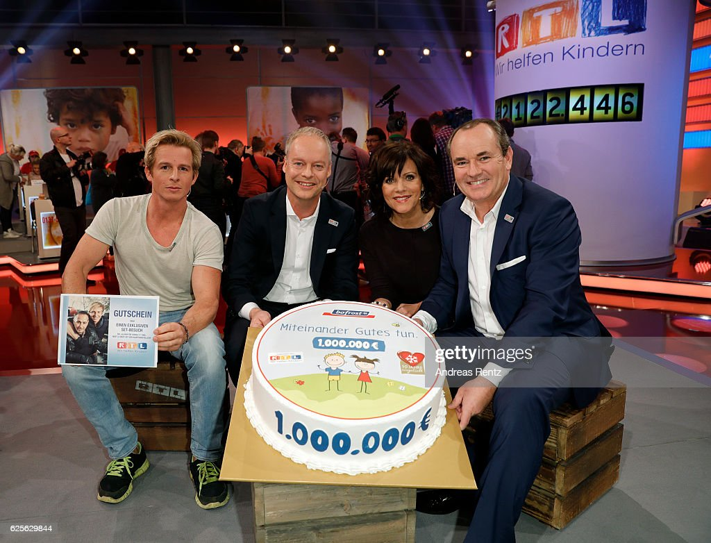 RTL Telethon In Cologne : News Photo
