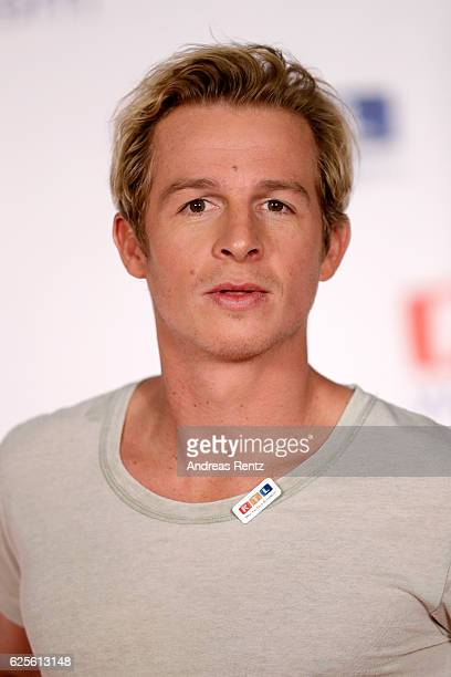 Daniel Roesner is seen in the studio of the RTL Telethon TV show on November 24 2016 in Cologne Germany The telethon is held every year and is on air...