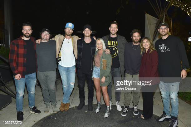 Daniel Ross James McNair Brian Kelley of Florida Georgia Line Tyler Hubbard of Florida Georgia Line RaeLynn Corey Crowder Canaan Smith Leslie T...