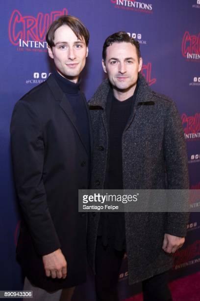 Daniel Rowan and Max Von Essen attend 'Cruel Intentions' The 90's Musical Experience at Le Poisson Rouge on December 11 2017 in New York City