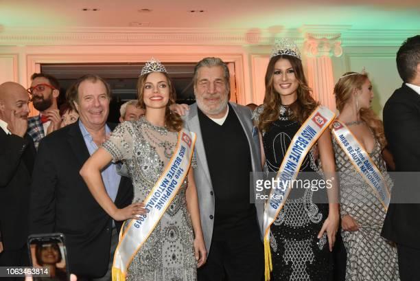 Daniel Russo a Miss Jean Pierre Castaldi and 'Miss Beaute Nationale 2019' Jenna Ktorza attend the 'Miss Beaute Nationale 2019' Election Ceremony and...