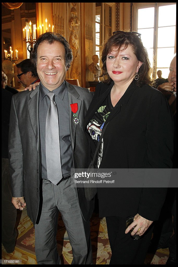 Awards Giving Ceremony At Culture Ministry In Paris : Photo d'actualité