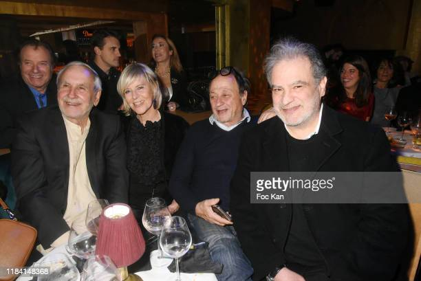 Daniel Russo Patrice Laffont Chantal Ladesou her husband Michel Ansault and Raphael Mizrahi attend Jean Marie Bigard « Ogre » Perfume Launch Party at...