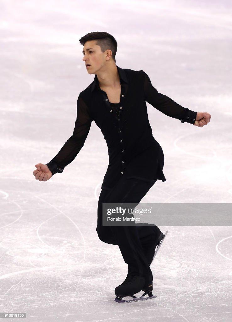 Даниэль Самохин / Daniel SAMOHIN ISR - Страница 4 Daniel-samohin-of-israel-competes-during-the-mens-single-skating-at-picture-id918819130