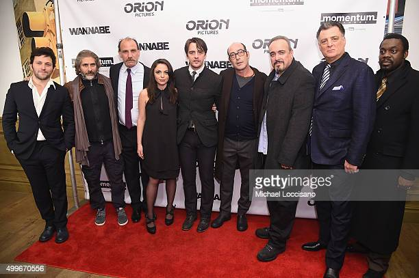 Daniel Sauli Michael Imperioli Nick Sandow Adriana DeMeo Vincent Piazza Johnny Ventimiglia David Zayas Joseph Siravo and Doug E Doug attend The...