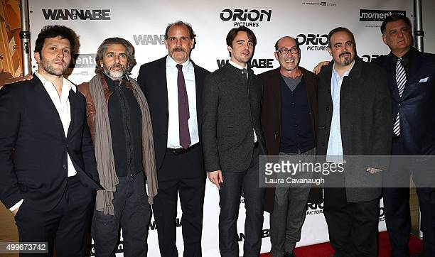 Daniel Sauli Michael Imperioli Nick Sandow Vincent Piazza Johnny Ventimiglia and David Zayas attend The Wannabe New York Premiere at Crosby Street...