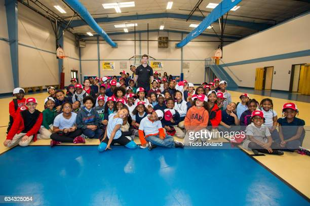 Daniel Saurez visits the Anderson Boys and Girls Club on February 8 2017 in Marietta Georgia