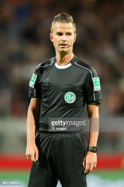 Daniel Schlager looks on during the Second Bundesliga match between 1 FC Nuernberg and FC St Pauli at MaxMorlockStadion on September 11 2017 in...