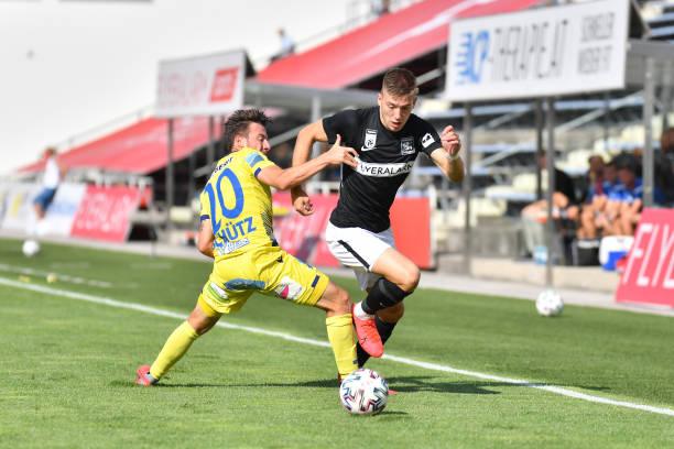 AUT: FC Flyeralarm Admira v spusu SKN St. Poelten - tipico Bundesliga