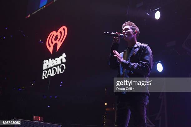 Daniel Seavey of Why Don't We performs onstage during Power 961's Jingle Ball 2017 Presented by Capital One at Philips Arena on December 15 2017 in...