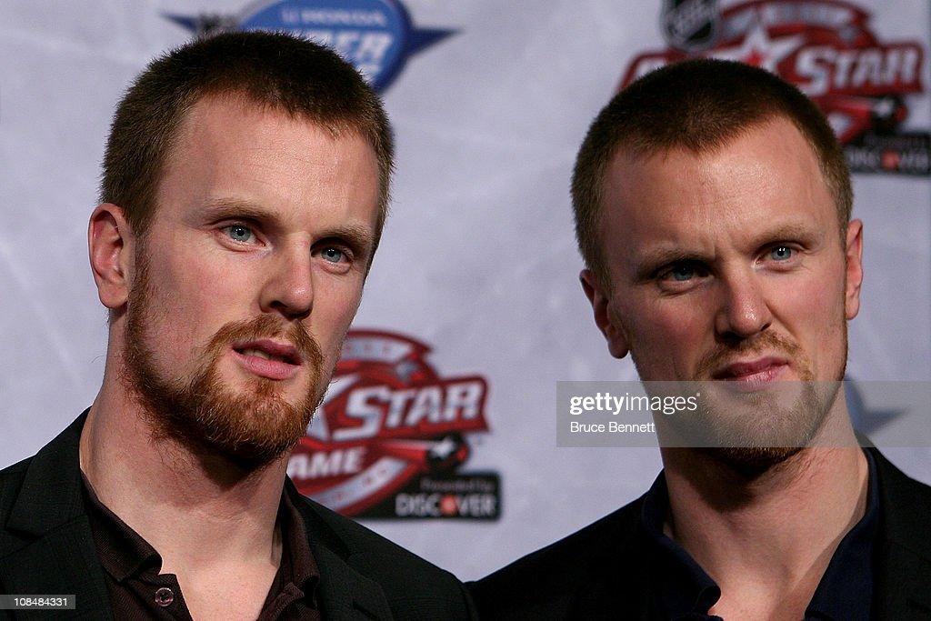 NHL All-Star Player Media Availability : News Photo