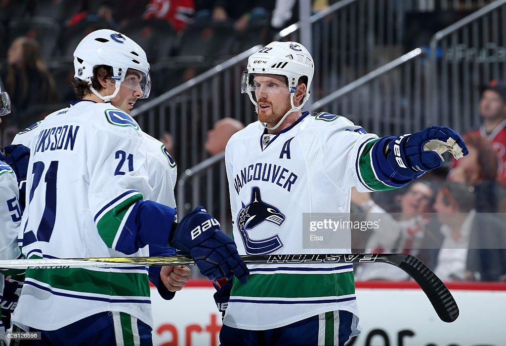 Vancouver Canucks v New Jersey Devils : News Photo