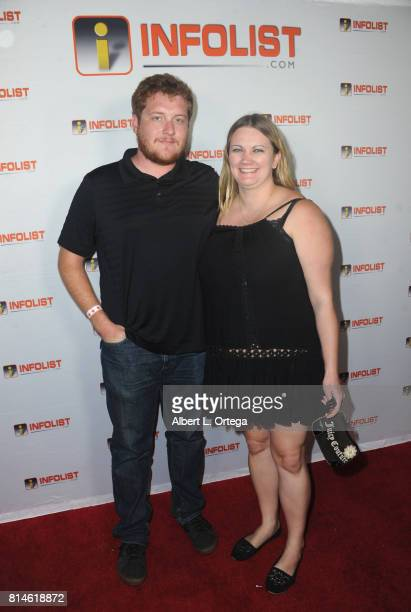 Daniel Selleck and Michelle Gretz attend Jeff Gund's INFOLISTcom's Annual PreComicCon Party held at OHM Nightclub on July 13 2017 in Hollywood...