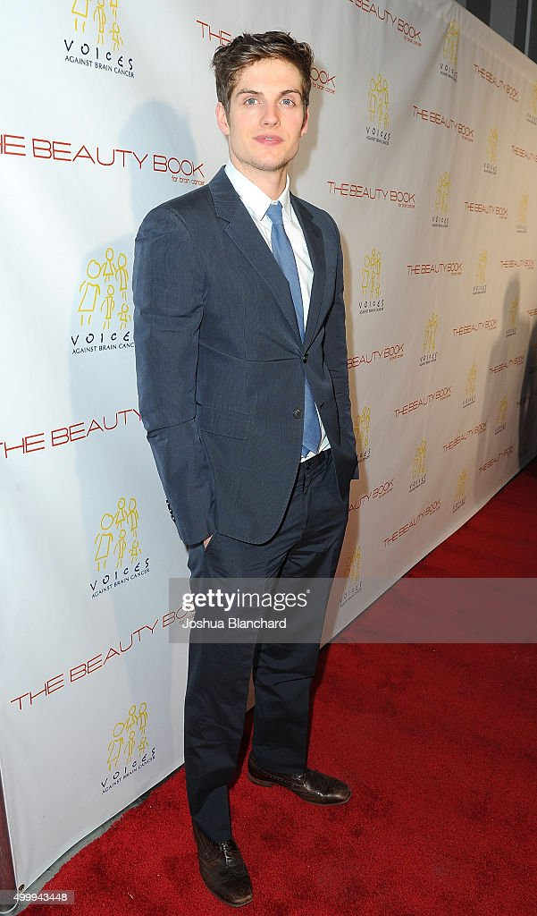 Daniel Sharman arrives at 'The Beauty Book For Brain Cancer' Edition Two Launch Party sponsored by Voices Against Brain Cancer on December 3, 2015 in Los Angeles, California.