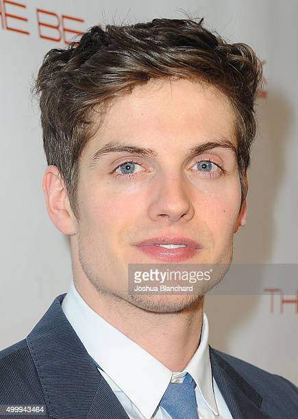 Daniel Sharman arrives at The Beauty Book For Brain Cancer Edition Two Launch Party sponsored by Voices Against Brain Cancer on December 3 2015 in...