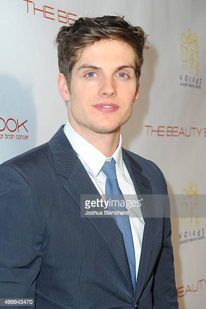 Daniel Sharman arrives at 'The Beauty Book For Brain Cancer' Edition Two Launch Party sponsored by Voices Against Brain Cancer on December 3 2015 in...