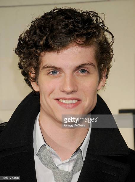 Daniel Sharman arrives at the launch of Burberry's new fragrance Burberry Body at Burberry on October 26 2011 in Beverly Hills California