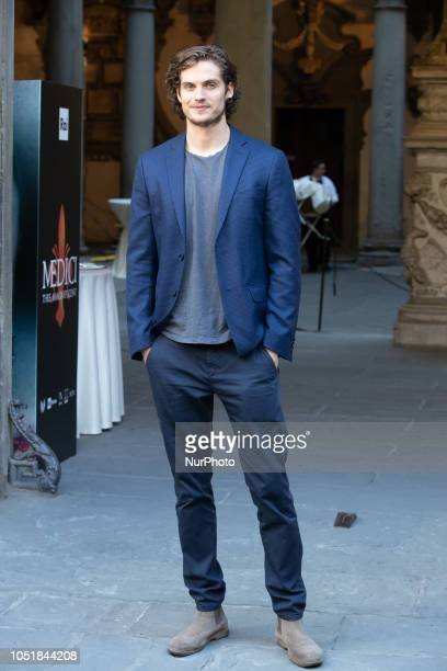 Daniel Sharman attends press Conference for quotThe Medici the Magnificentquot in Florence Palazzo Medici Riccardi Italy on 10 October 2018 The...