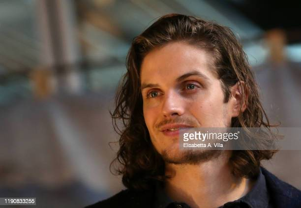 Daniel Sharman attends the photocall of the Rai tv movie I Medici Nel Nome Della Famiglia on November 29 2019 in Rome Italy