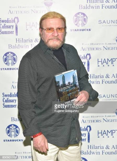 Daniel Simone attends Authors Night 2017 At The East Hampton Library at The East Hampton Library on August 12 2017 in East Hampton New York