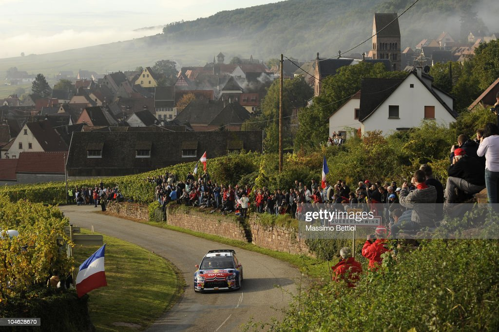 Rally of France - Leg 1