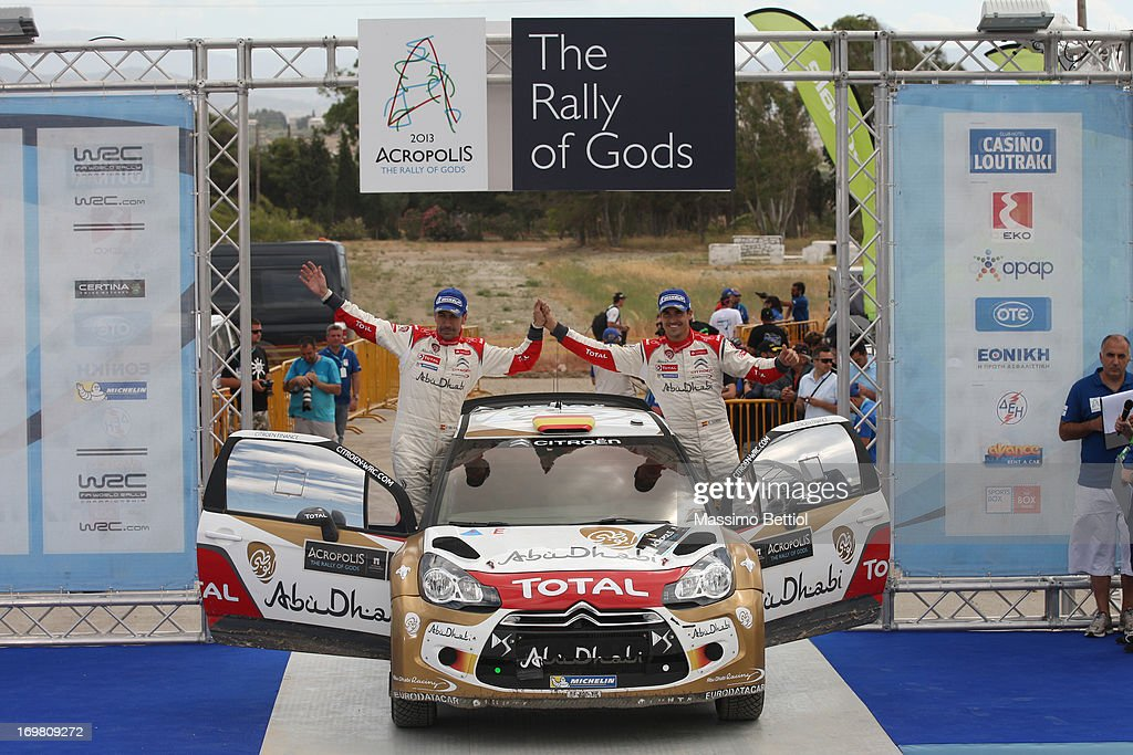 FIA World Rally Championship Greece - Day Two : News Photo